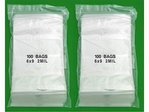 "iMBAprice 6 x 9"" 2 Mil Reclosable Bags - 2000"