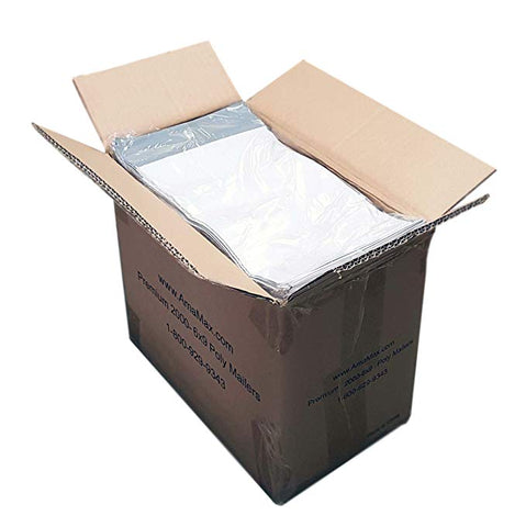 iMBAPrice 5000 - 6X9 Premium Matte Finish White Poly Mailers Envelopes Bags