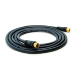 75Ft F-Type Screw-on RG6 Cable Black Gold Plated
