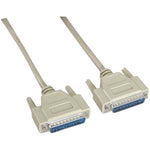 25Ft DB25 M/M Serial Cable 25C Straight