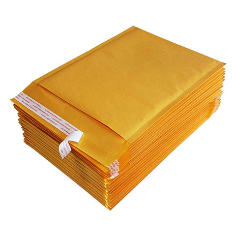 "iMBAPrice100 #5 10 1/2 x 16"""" KRAFT BUBBLE MAILERS PADDED ENVELOPES 10 1/2 x 16"" - Total 100  Envelopes"