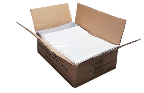 iMBAPrice 1000 - 10x13 Premium Matte Finish White Poly Mailers Envelopes Bags