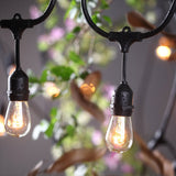 48Ft String Light Cable 24 Sockets ( Bulbs Not Included ) E26