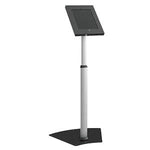 Anti-Theft Height Adjustable iPad Floor Stand PAD12-05AL