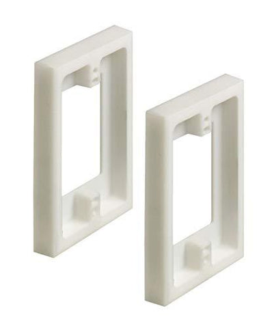 Arlington Non-Metallic Box Extender, 1-Gang (2-Pack)