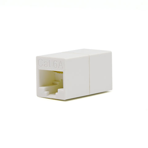 Cat.6A Inline Coupler White