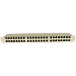 Cat.6 1U 48Port Shielded Patch Panel