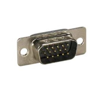 DB15 HD Male Solder Cup Connector
