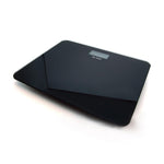 Digital Bathroom Scale, Tempered Glass Platform Max Load 400Lbs, Black
