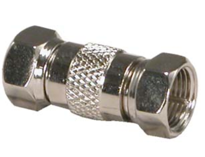 F-Type Dual Male Inline Coupler