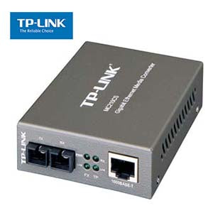 Gigabit Media Converter SC/SM 15Km,TP-Link MC210CS