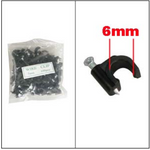 Nail-in Clip for RG59 Black 100pack