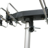 Outdoor HDTV Antenna with Motor Rotor, UHD3942B