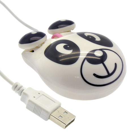 Panda Mouse USB Plug 2-Button + Scroll