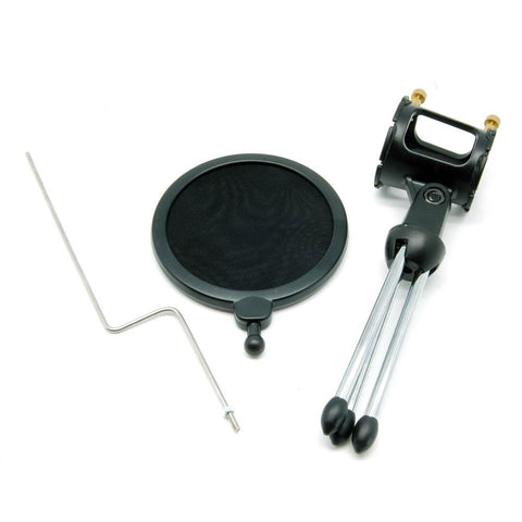 Portable Desktop Microphone Stand MDS-5 With Pop-Filter