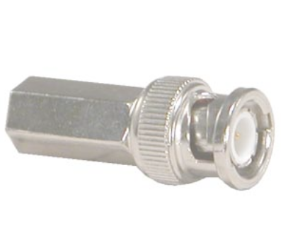 RG59 BNC Male Twist-on Connector