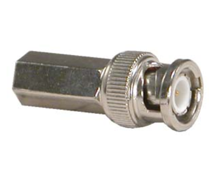 RG6 BNC Male Twist-on Connector