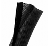 Velcro Cable Sock Black 85mm x 2m