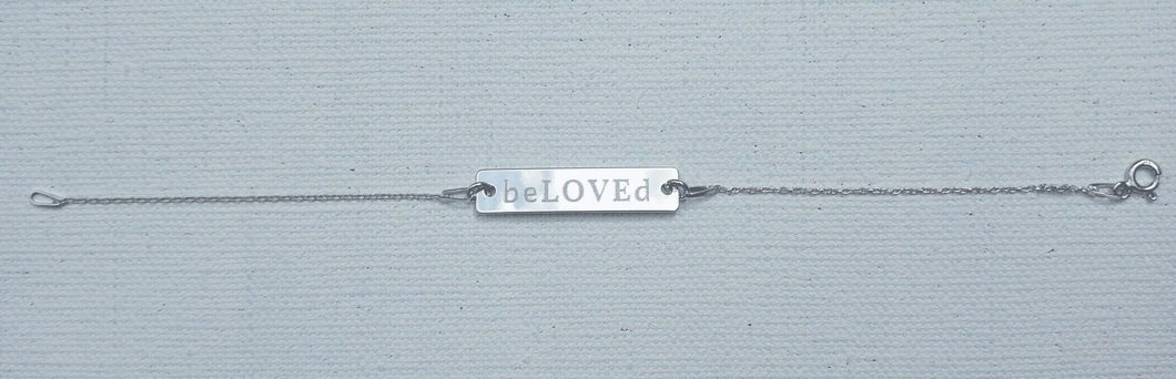beLOVEd Kettenarmband beLOVEd Bracelet / Free shipping / Gratis Lieferung - Art Evelyn Wilhelm