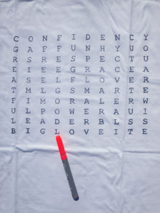 Find the words! - Art Evelyn Wilhelm