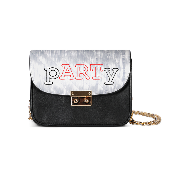 pARTy Time! Small Shoulder Bag (free shipping / gratis Lieferung) - Art Evelyn Wilhelm