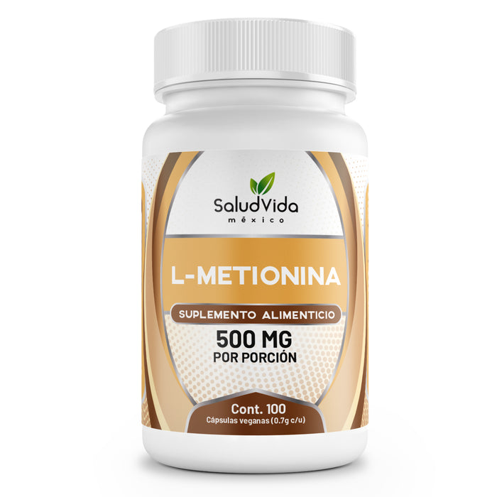 L-Metionina 500mg en cápsulas