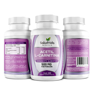 Acetil L-Carnitina 500mg