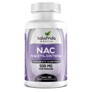 NAC N-Acetil Cisteína 500mg