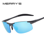 Men Polarized Aluminum Alloy Frame Sunglasses