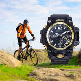 AO  Watch LED Men Waterproof Sports Watches Shock Digital Electronic