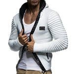 Men's Slim Fit Hoodies Sweatshirt
