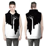 Women/Men Unisex Sleeveless 3D Print Hoodies