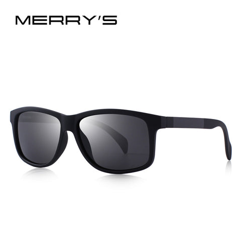 MERRY'S DESIGN Men Square Polarized Fishing Sunglasses For Outdoor Sports Lighter Frame UV400 Protection S'8507