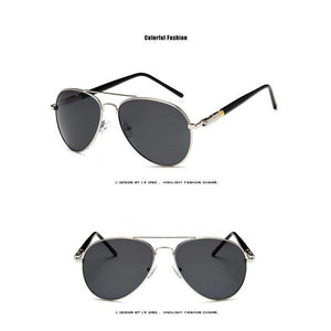 Classic Sunglasses Men Pilot Polarized Sunglasses Men High Quality Driving Glasses Brand Designer Male Retro Coating Lens Shades