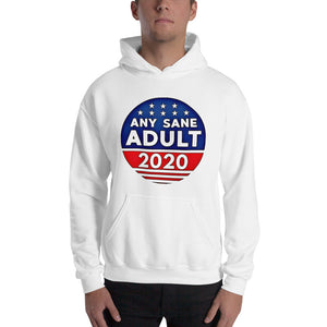 Any Sane Adult 2020 Funny Political Unisex Hoodie