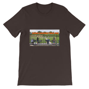 "Short-Sleeve Unisex T-Shirt. ""Second Amendment Theme Park""."
