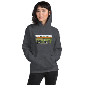 "Unisex Hoodie. ""Second Amendment Theme Park""."