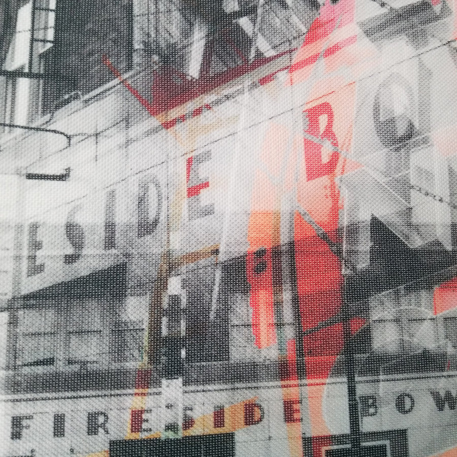 "Fireside Bowl - Chicago 13"" Canvas Wall Art - Photo Collage"
