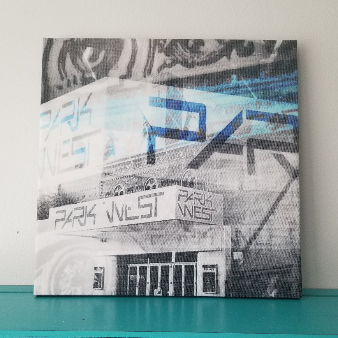 "Park West - Chicago 13"" Canvas Wall Art - Photo Collage"