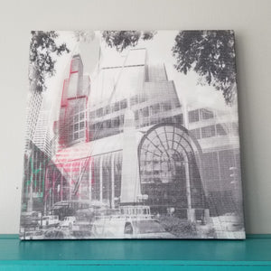 "Sears Tower - Chicago 13"" Canvas Wall Art - Photo Collage"