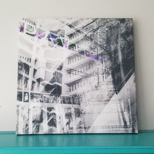 "UIC Campus - Chicago 13"" Canvas Wall Art - Photo Collage"