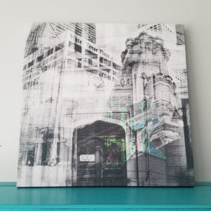 "Water Tower - Chicago 13"" Canvas Wall Art - Photo Collage"
