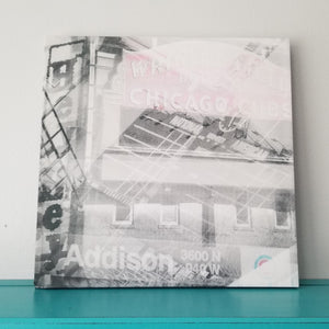 "Wrigley Field - Chicago 13"" Canvas Wall Art - Photo Collage"