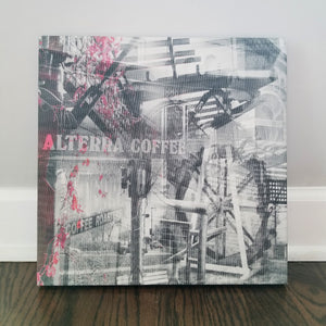 "Milwaukee 13"" Canvas - Alterra Coffee - Photo Collage Wall Art"