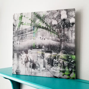 "New York 13"" Canvas - Central Park - Photo Collage Wall Art"