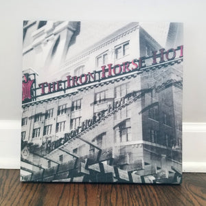 "Milwaukee 13"" Canvas - Iron Horse Hotel - Photo Collage Wall Art"