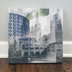 "Milwaukee 13"" Canvas - Marquette University - Photo Collage Wall Art"