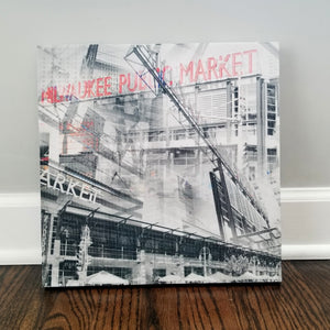 "Milwaukee 13"" Canvas - Milwaukee Public Market - Photo Collage Wall Art"