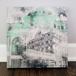 "Milwaukee 13"" Canvas - Mitchell Building - Photo Collage Wall Art"