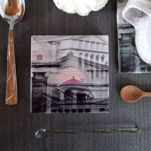 "4"" Ceramic Tile Coaster - Museum Collection"